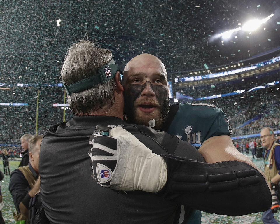1108d40cd Eagles beat Patriots for first Super Bowl win in team history ...