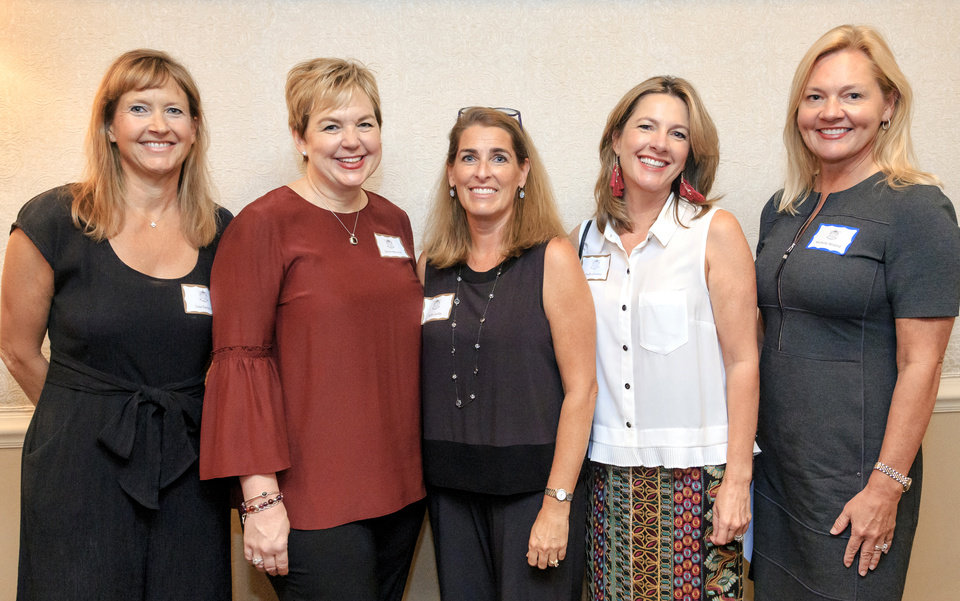Photo - Lisa Farhood, Janine Wheeler, Holly Carlin, Chelle Greene, Michelle Woford. PHOTO BY CHRIS LANDSBERGER, THE OKLAHOMAN