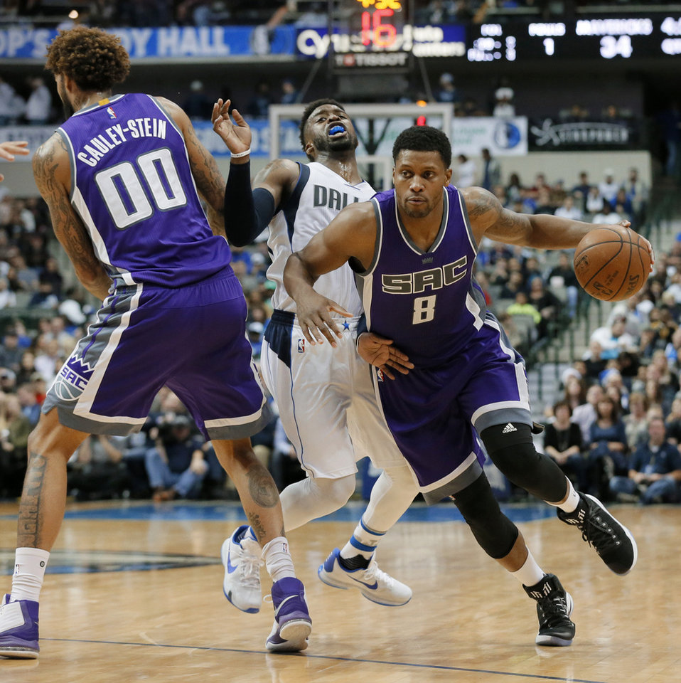 Image result for rudy gay kings mavs