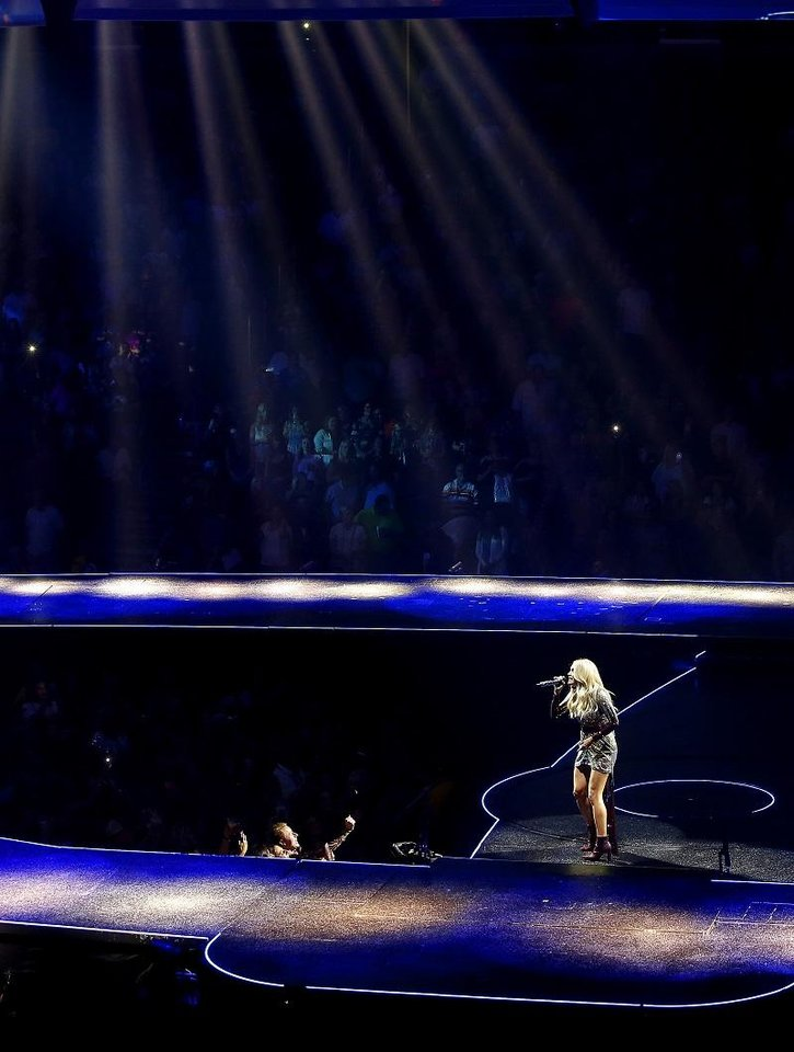 Photo - Carrie Underwood performs at Chesapeake Energy Arena during her