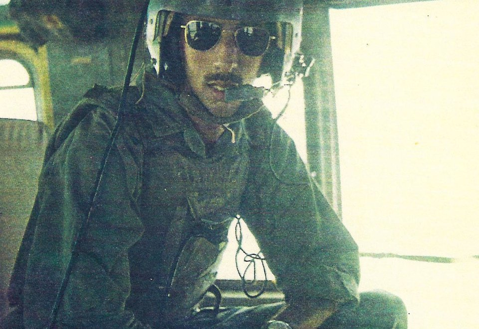Photo -  The late retired U.S. Army Sgt. 1st Class Stephen M. Florentz, a helicopter medic during the Vietnam War, is show in a snapshot from the era. [PHOTO PROVIDED]