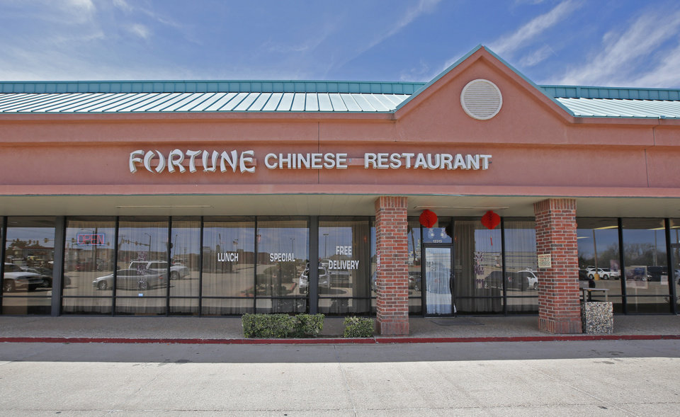 Fortune Chinese restaurant in Oklahoma City, Friday March 04, 2016. Photo  By Steve Gooch, The Oklahoman   Imported: Fri.