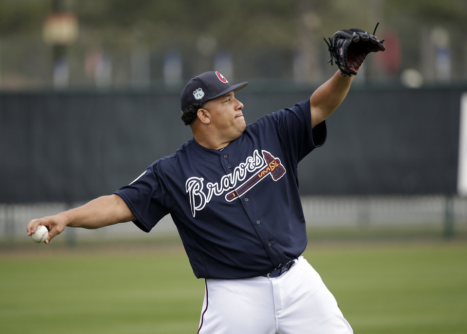 Image result for bartolo colon braves