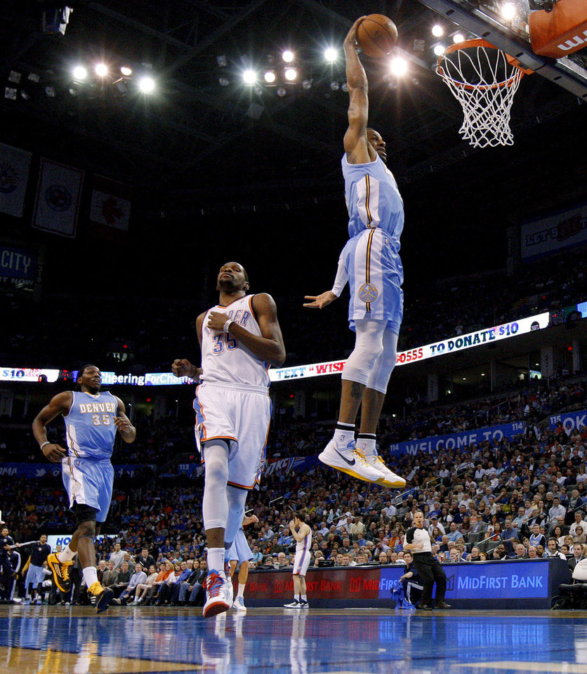 Recap: Nuggets At Thunder