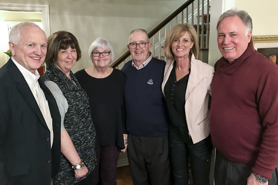 Photo - Dennis and Anna Sue Luckinbill, Suzie and Stan Hupfeld, Charlotte and Bill Mosteller. PHOTO PROVIDED