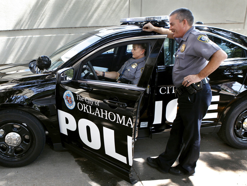The Oklahoma City police department is replacing its current fleet of patrol cars with 2013 Ford & Oklahoma City police fleet to get a new look   News OK markmcfarlin.com