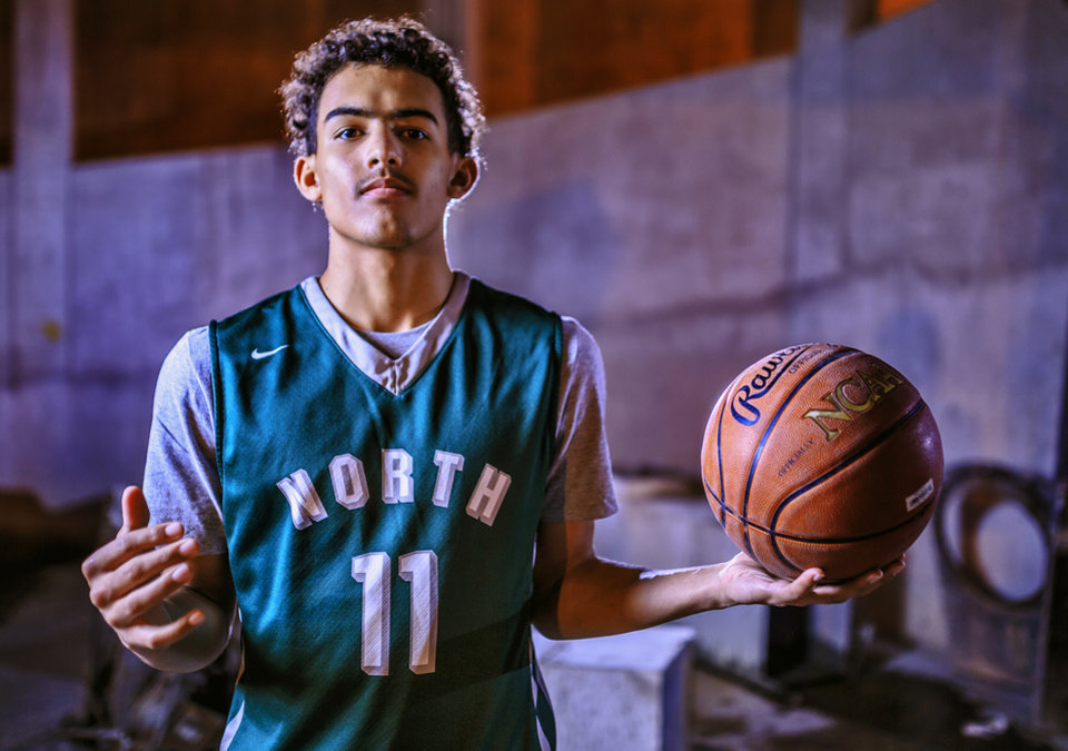 Photo - Oklahoman All-City player Trae Young of Norman North. (Photo by Chris Landsberger, The Oklahoman)