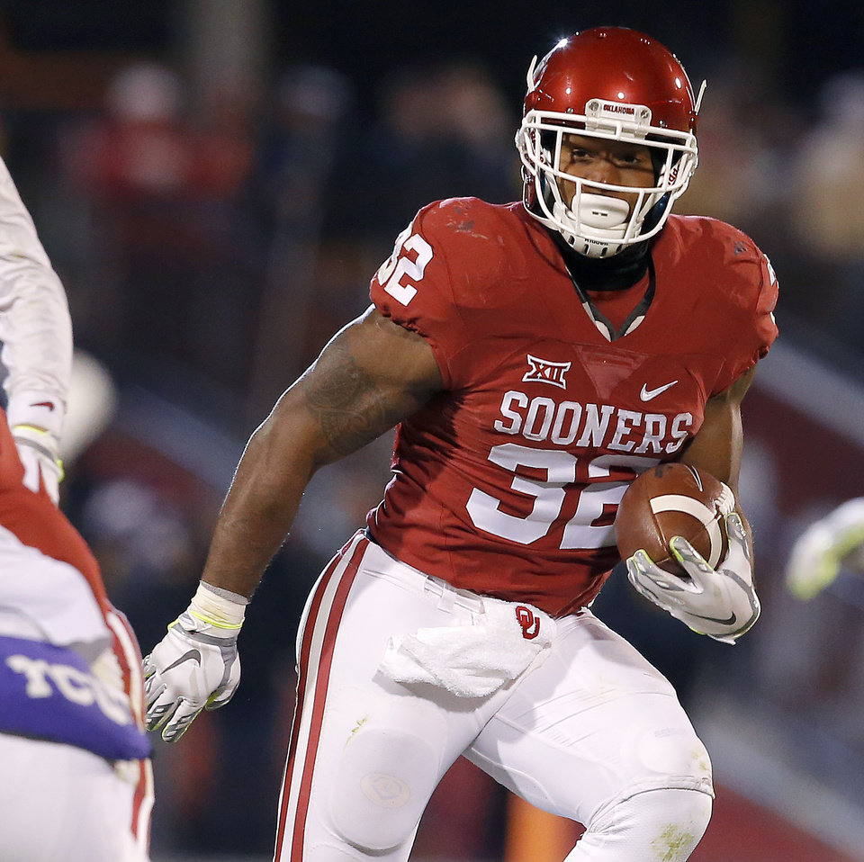 OU football: Samaje Perine on pace to shatter Sooners' all-time ...