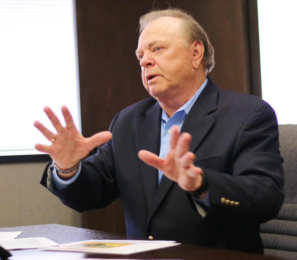 Photo -   Harold Hamm     CEO of Continental Resources