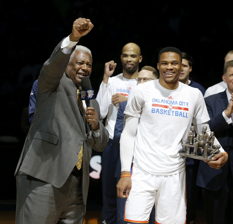 OSCAR THE VOUCH Robertson repays Westbrook with MVP endorsement