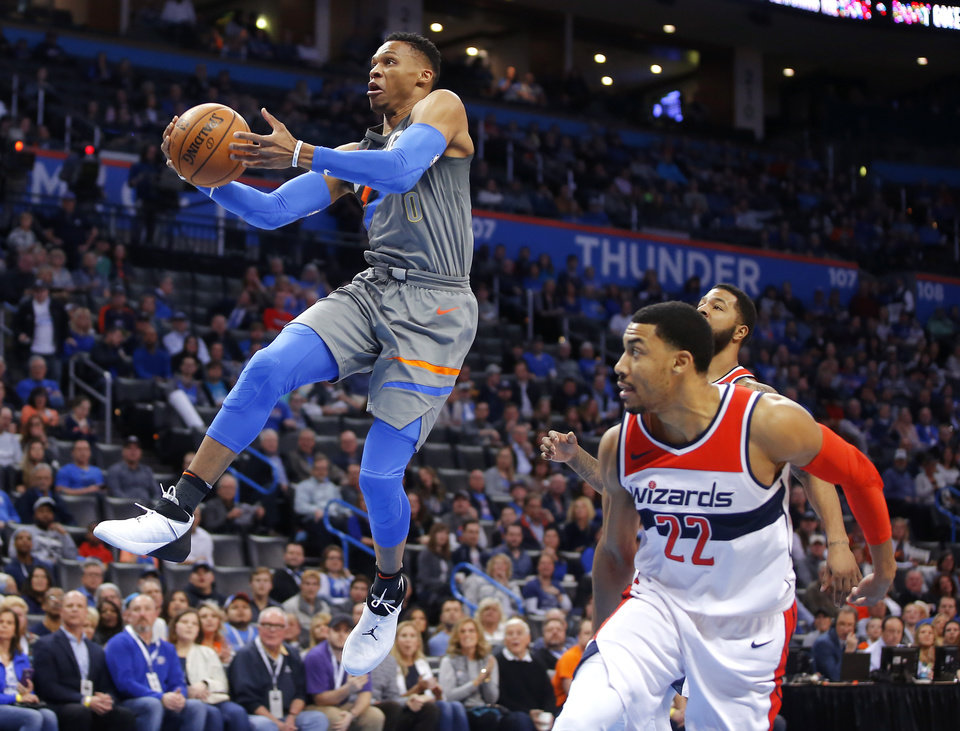 Westbrook erupts on court against Wizards | News OK
