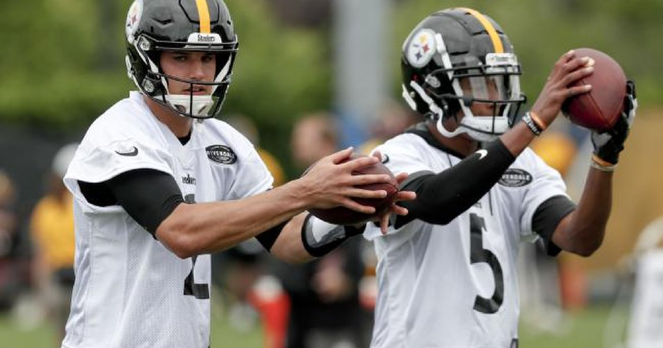 89aec51c903 Former OSU star Mason Rudolph in tight battle to be Steelers' No. 2  quarterback