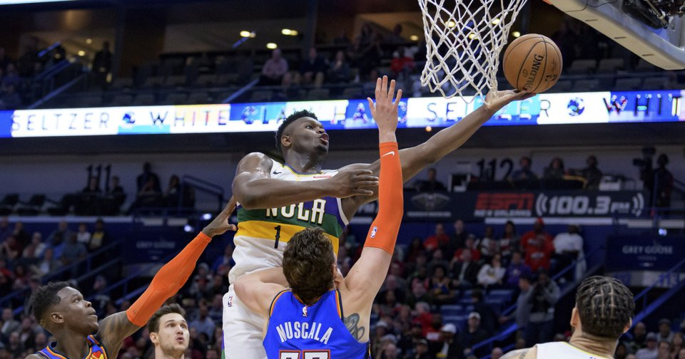 OKC Thunder: Get ready for lots of Zion Williamson