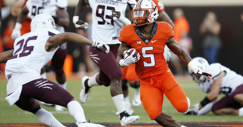 OSU football: Justice Hill's Heisman odds double after season opener