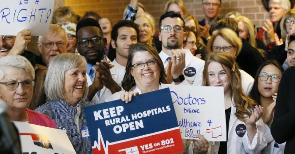 Oklahoma voters approve Medicaid expansion at the ballot box