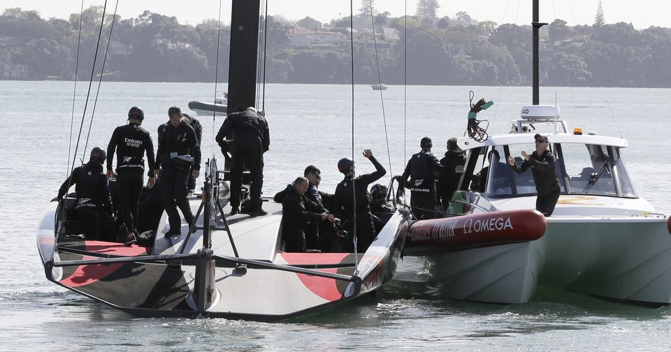 Past and future converge in America's Cup challenger series - Oklahoman.com