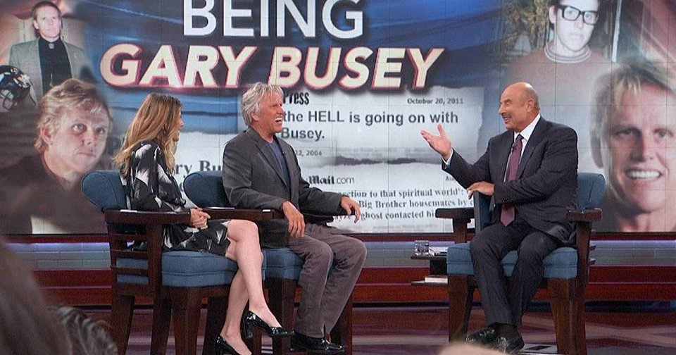 Video: Gary Busey to appear today on 'Dr  Phil'