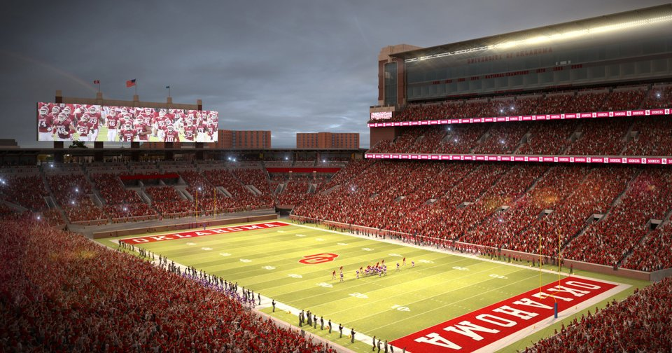 Oklahoma Football The Price Of Progress Is Bittersweet For Longtime South End Zone Season Ticket Holders