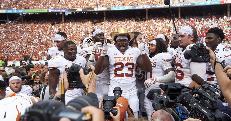 9d28663703e8 Big 12 rankings  Could Arlington host an OU-Texas rematch