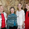 Charlene Ewing, Sue Francis, Reba Bratcher, Rosemary Lakin. PHOTO BY FRAN KOZAKOWSKI