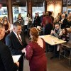 Couple gets married at Dunkin' Donuts 27 years after a memorable French vanilla coffee