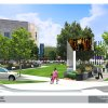 Photo - An artist's rendering shows the proposed Project 180 makeover of the Civic Center park. Image PROVIDED