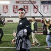 Baker Mayfield takes center stage at OU\'s pro day