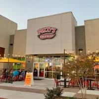 A Fuzzy's Taco Shop location during better times for retail. [NAI SULLIVAN GROUP]