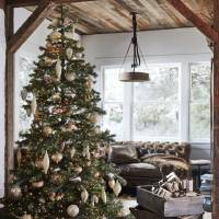 This Yukon Spruce, new last year from Balsam Hill, features an asymmetrical shape and sparser branches, a growing trend as consumers opt for that...
