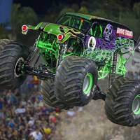 Grave Digger is among the trucks competing in the Monster Jam Triple Threat Series stop at Oklahoma City's Chesapeake Energy Arena. [Photo provided]