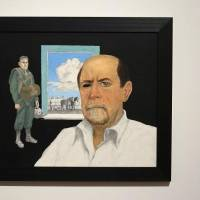 """""""Self Portrait"""" by O. Gail Poole is shown at the Fred Jones Jr. Museum of Art, on the University of Oklahoma campus in Norman. It is part of..."""