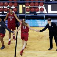 Stanford Coach Tara VanDerveer at practice before the Final Four of the N.C.A.A. women's basketball tournament. Credit Eric Gay/Associated Press