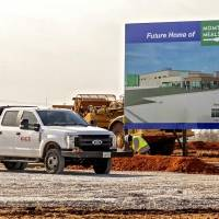 Crews have begun work on a 200,000-square-foot Mom's Meals kitchen and food prep center at 6849 S Rockwell Ave. The Iowa-based company said the...