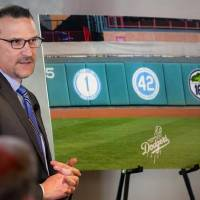 OKC Dodgers president and general manager Michael Byrnes talks Tuesday about the No. 168 team jersey the team will retire this season in honor of...