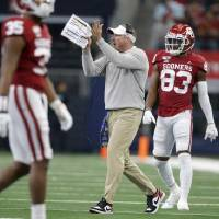 """Alex Grinch knew """"the expectations are through the roof"""" when he became Oklahoma's defensive coordinator. [Bryan Terry/The Oklahoman]"""