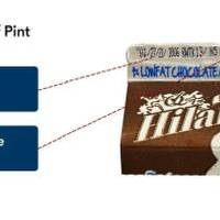 How to identify the chocolate milk that has been recalled by Hiland Dairy due to possible contamination.