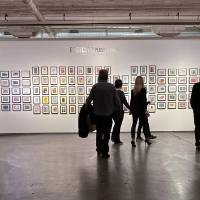 A view of the Postcard Perspectives exhibition at Artspace at Untitled. CHANDLER WATSON PHOTO
