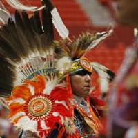 Dancers perform at the 2019 Red Earth Festival at the Cox Convention Center in Oklahoma City, Oklahoma Saturday, June 8, 2019.  [The Oklahoman...