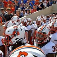Much to some fans' dismay, Oklahoma State's conference football game on Saturday, Sept. 28, against Kansas State will be shown on ESPN+. [Sarah...