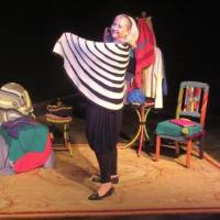 "Dallas writer-performer Elaine Liner is bringing her one-woman ""knitcom"" show ""Sweater Curse: A Yarn about Love"" to Oklahoma City for the..."