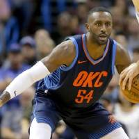 Patrick Patterson's playing time took a major hit down the stretch after the signing of Markieff Morris. [Bryan Terry/The Oklahoman]