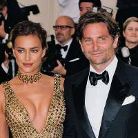 NEW YORK, NY - MAY 07:  Irina Shayk and Bradley Cooper at Metropolitan Museum of Art on May 7, 2018 in New York City.  (Photo by Jackson Lee/Getty Images)