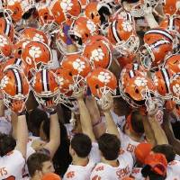 Clemson will start the season No. 1 but faces unique challenges this year, as do all FBS teams. [AP Photo/Jeff Chiu, File]