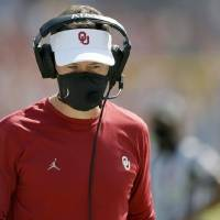 """OU coach Lincoln Riley says the Sooners have """"let some games get closer than what they should have, for sure (with) mental lapses late in games..."""