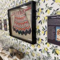 """Artifacts such as cooking implements, aprons, cookbooks and appliances are included in the """"What's Cooking, Edmond?"""" exhibit at the Edmond..."""