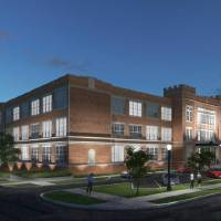 The former Roosevelt school at 900 N Klein Ave., last home to the Oklahoma City Public Schools administration, is set to be developed into a hotel...