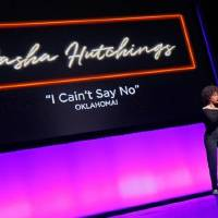 """Sasha Hutchings sings, """"I Cain't Say No"""" from """"Oklahoma!"""" on Jan. 27, 2019, as OKC Broadway unveils its 2020-2021 season at the Civic Center Music..."""