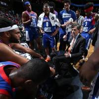 Will Weaver was named G League Coach of the Year in 2018-19, his only season with the Long Island Nets. [Photo courtesy of Jen Voce/Long Island...