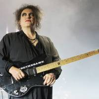 BOLOGNA, ITALY - OCTOBER 29:  Robert Smith leads the Cure in concert at Unipol Arena on October 29, 2016 in Bologna, Italy.  (Photo by Roberto Serra - Iguana Press/Redferns)