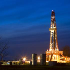 An example of the core of Panhandle Oil & Gas Inc.\'s investments: oil and gas wells operated...